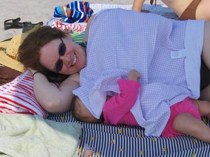 breastfeeding position